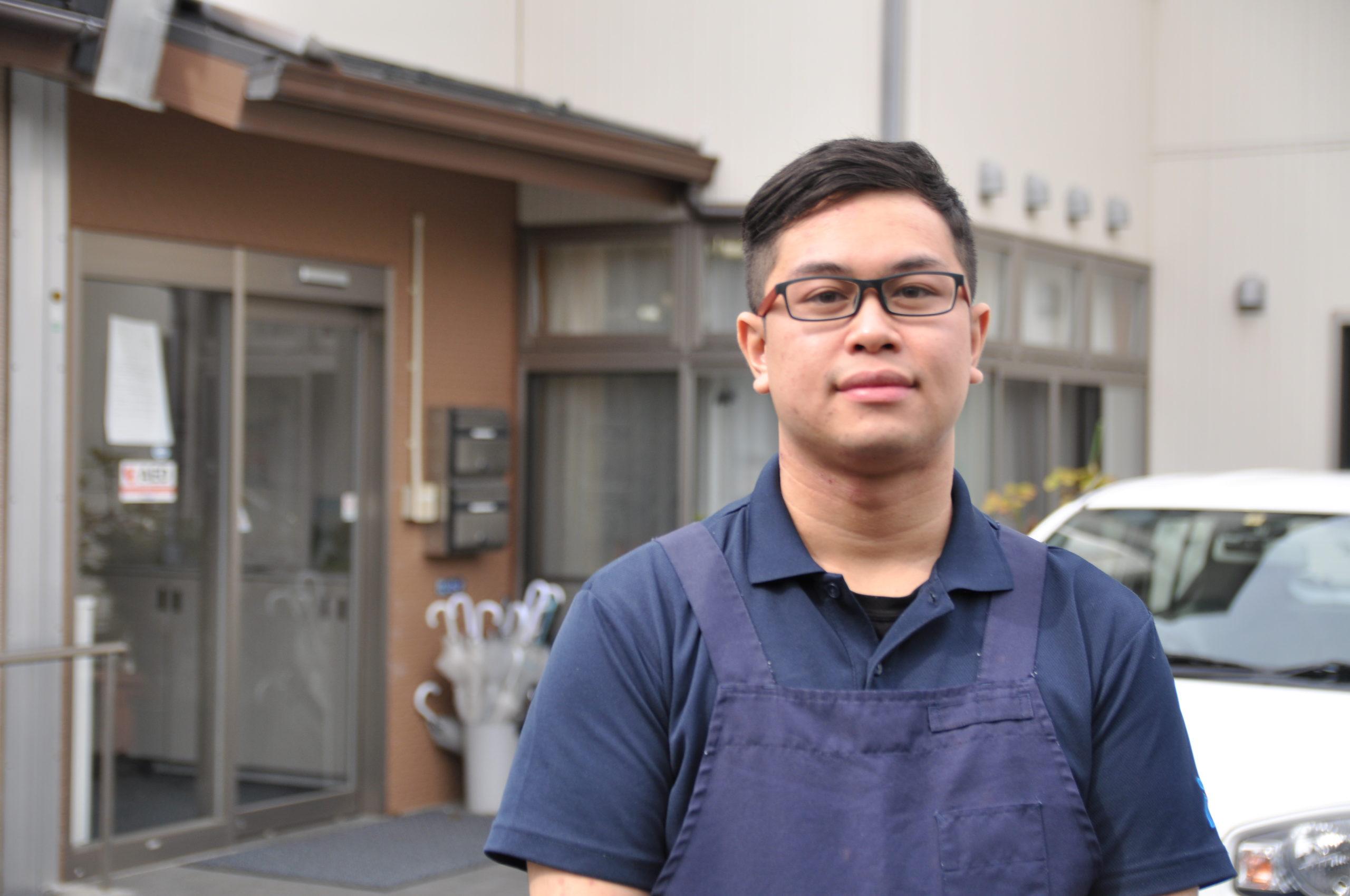 愛・グループホーム市川国府台<br>介護スタッフ サキーフ さん イメージ