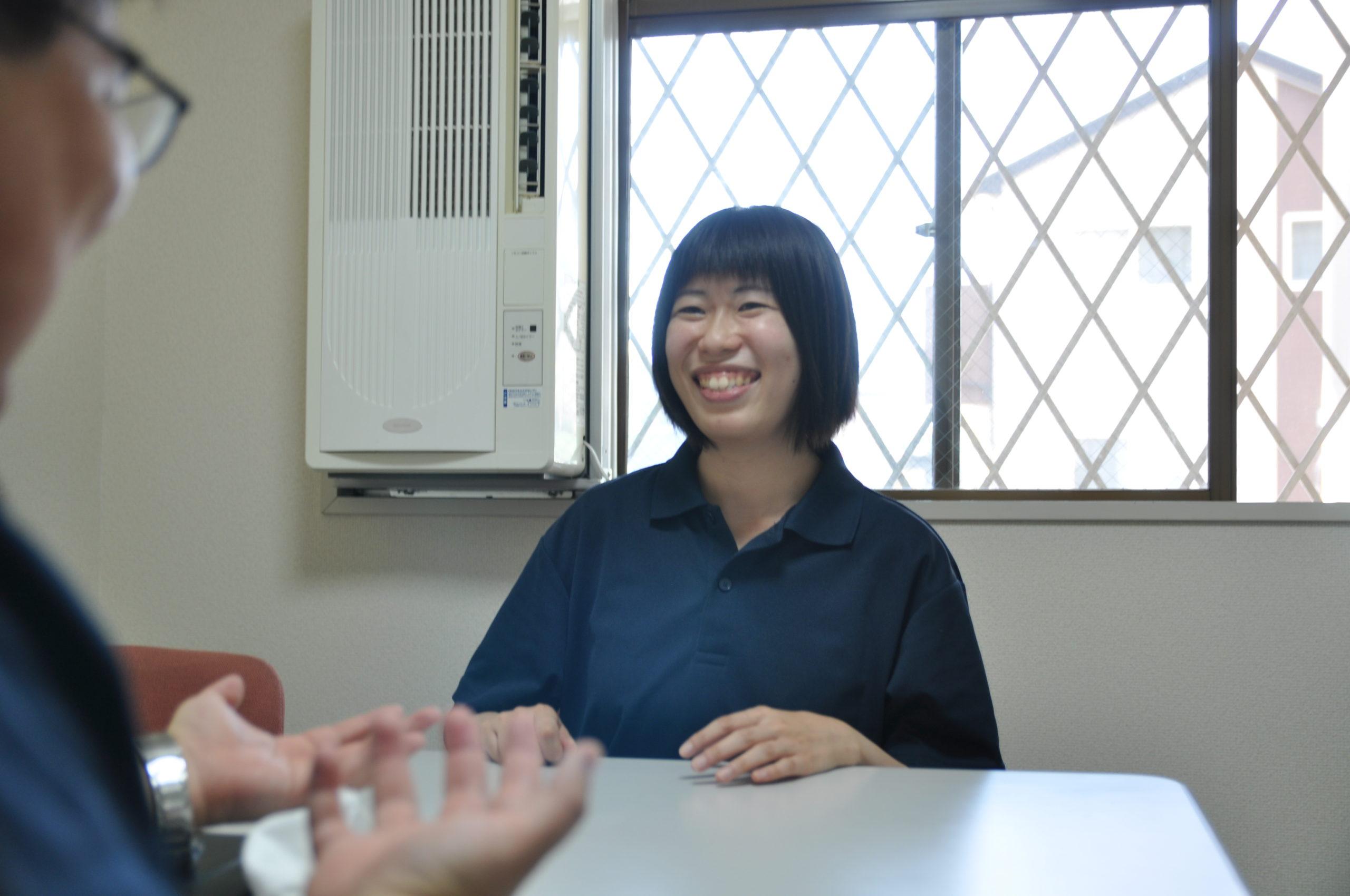 愛・訪問介護ステーション越谷<br>介護スタッフ 阿部 さん イメージ