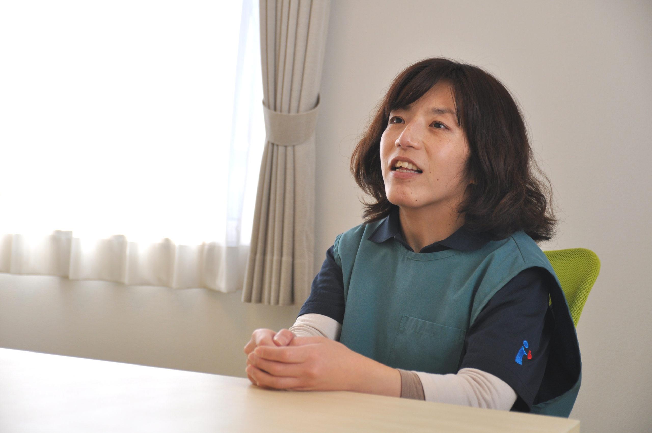 愛・グループホーム鷺沼台<br>介護スタッフ 瀬谷 さん イメージ